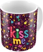 Indiangiftemporium Fancy Design Printed Cute Coffee S Pair 762 Ceramic Mug (300 Ml, Pack Of 2)