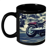 AMY Harley Davidson Girl Ceramic Mug (325 Ml)