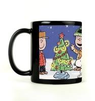 Shoprock Merry Chritsmas Mug (Black, Pack Of 1)