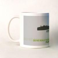 Shopshree Go Green Ceramic Mug (350 Ml)