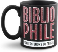 Happily Unmarried Bibliophile Coffee  Ceramic Mug (0.5 Kg)
