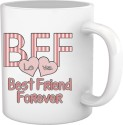 Tiedribbons Best Friend Forever Coffee Mug Mug - White, Pack Of 1