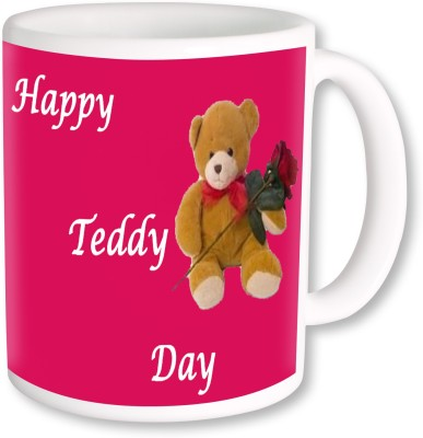 Heyworlds Teddy Bear Day 0009 Ceramic Mug