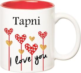 HuppmeGift I Love You Tapni Inner Red (350 ml) Ceramic Mug
