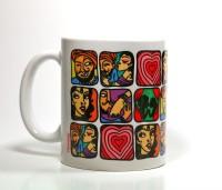 Chumbak Kamasutra Pyar Mug Multi Colour, Pack of 1