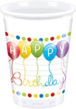 Disney Cups & Mugs Disney Happy Birthday Streamers Plastic Plastic Mug