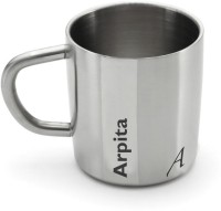 Hot Muggs Me Classic  - Arpita Stainless Steel Mug (200 Ml)