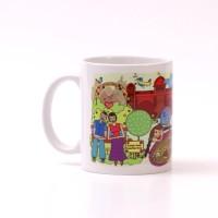 Chumbak Pune Mug Multi Colour, Pack of 1