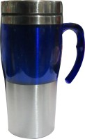 Blue Birds Fashion Travel Stainless Steel Mug (500 Ml)