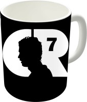 Dreambolic Cr7 Logo White Ceramic Coffee Ceramic Mug (300 Ml)
