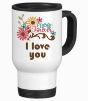 Tiedribbons Best Gifts For Girlfriend Travel Stainless Steel Mug (350 Ml)
