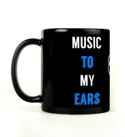 Shoperite Music To The Ears Ceramic Mug (300 Ml)