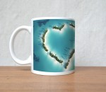 StyBuzz Plates & Tableware StyBuzz Love is Like Ocean Quote Porcelain Mug