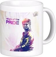 Exoctic Silver Chennai Super King IPL Series XXX 024 Ceramic Mug (300 Ml)