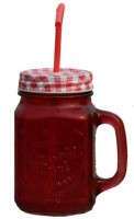 Armanndesigns Mason Jar Glass Mug (500 Ml)