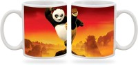 Artmagik The Kung Fu Panda  Ceramic Mug (350 Ml)