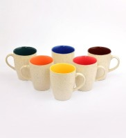 CDI CDIB052_B05A Ceramic Mug (500 Ml, Pack Of 6)