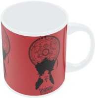 PosterGuy Full Metal Alchemist Shadow Illustration Ceramic Mug (280 Ml)