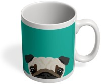 PosterGuy Pug Quirky, Cute, Dogs, Animal Ceramic Mug (280 Ml)