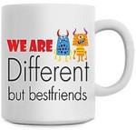 Fantaboy Plates & Tableware Fantaboy We are different But Freinds Ceramic Mug