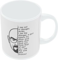 PosterGuy I Am Not In Danger | I Am The Danger Breaking Bad Series Inspired Ceramic Mug (280 Ml)