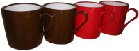 Nayasa Nayasa Tea And Coffee Cup (Set Of 4) Plastic Mug (100 G, Pack Of 4)