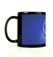 Shoprock Chelsea Football Mug (Black, Pack Of 1)