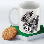 Posterboy Plates & Tableware Posterboy Hawkeye Assemble Officially Licensed Ceramic Mug