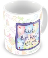 26 OFF On Everyday Gifts Happy Birthday Gift For Sister Ceramic Mug Flipkart