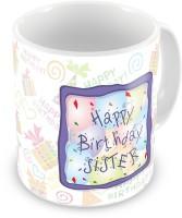 26 OFF On Everyday Gifts Happy Birthday Gift For Sister Ceramic Mug Flipkart
