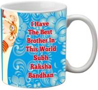 Mesleep Rakhi Quotes 98 Ceramic Mug (325 Ml)