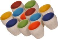 Elite Handicrafts Ceramic_Tea_Cups_135 Ceramic Mug (200 Ml, Pack Of 12)