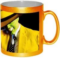 AMY Stylish 3d The Mask Coffee Ceramic Mug (325 Ml)