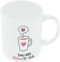 PosterGuy You Are So Beautiful Valentine's Day Coffee Ceramic Mug (280 Ml)