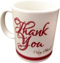 Luxury Gifts By Nikki Thank You Mug - Red, White, Pack Of 1