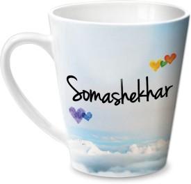 Hot Muggs Simply Love You Somashekhar Conical  Ceramic Mug