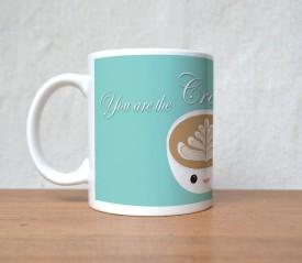 StyBuzz White Coffe Cup Smily Face Porcelain Mug