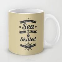 Astrode A Smoother Sea Never Made A Skilled Sailor Ceramic Mug (325 Ml)