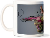AMY Unique Abstract Handcoffee Ceramic Mug