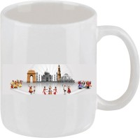 Elli Gifts India Coffee Mug 3 Ceramic Mug (325 Ml)