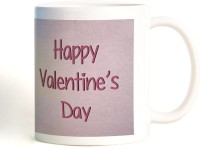 ShopMantra Kiss Of Love Mug (White, Pack Of 1)