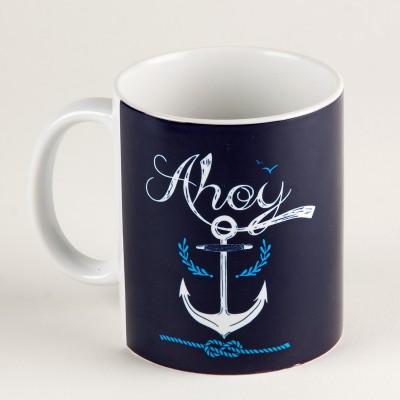 LetterNote Ahoy Ceramic Mug