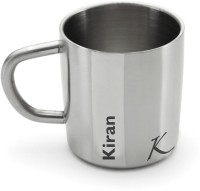 Hot Muggs Me Classic  - Kiran Stainless Steel Mug (200 Ml)