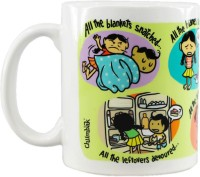 Chumbak MG210 Porcelain Mug (500 Ml, Pack Of 148)