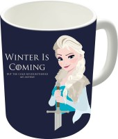 The Fappy Store Frozen Is Coming Ceramic Mug (300 Ml)