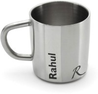 Hot Muggs Me Classic  - Rahul Stainless Steel Mug (200 Ml)