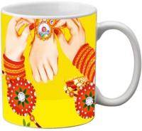 MeSleep Rakhi 108 Ceramic Mug (325 Ml)