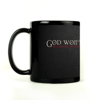 Shoperite God Wont Help You Ceramic Mug (300 Ml)