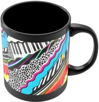 PosterGuy Art Print Abstract Patterns Quirky Ceramic Mug (280 Ml)