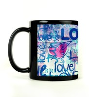 Shoperite Love Is Everywhere Ceramic Mug (300 Ml)